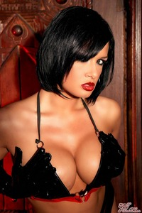 Tory Lane Getting Naughty In Her Shiny Dominatrix Wear 07