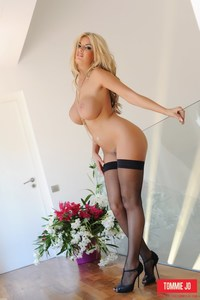 Tommie Jo Heels And Stockings 11
