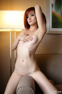 Redhead Witch Kylie Cole Posing To You 04