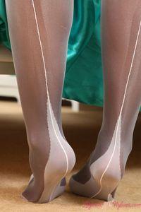Adele Black Mini Skirt 04