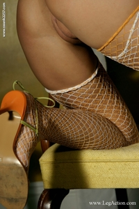 Monica Fishnet 06