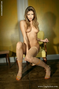 Monica Fishnet 12