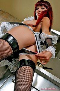 Sexy Redhead Maid 05
