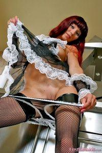 Sexy Redhead Maid 08