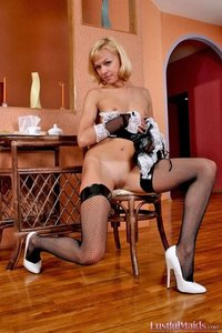 Delicious Maid Shows Her Pussy 12