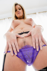 Busty Blonde Babe Strips In Casting 12