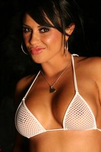 Mariah Milano Strips Her Hot White Bikini 01
