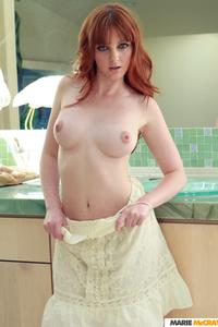Sexy Redhead Babe Marie McCray Nude Photos 10