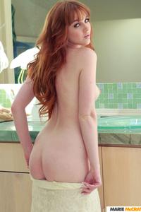 Sexy Redhead Babe Marie McCray Nude Photos 11