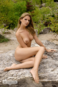 Bambi Nude In The Nature 00