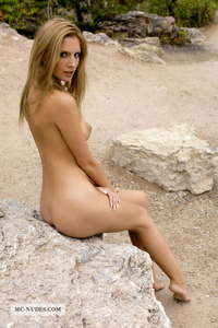 Bambi Nude In The Nature 03