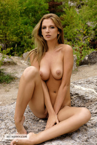 Bambi Nude In The Nature 06