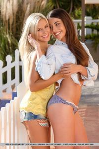 Young Cute Lesbian Friends 15