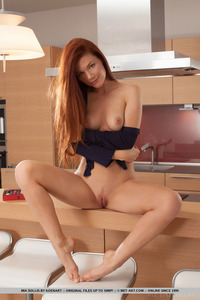 Redhead Angel Mia Sollis 15