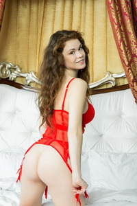 Estelle I Nsexy Red Lingerie 03