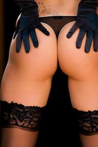 Nicoletta Neo Black Stockings 05