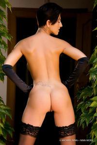 Nicoletta Neo Black Stockings 06