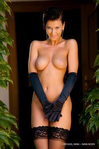 Nicoletta Neo Black Stockings 14