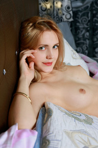 Tais Strips In Her Bedroom 07