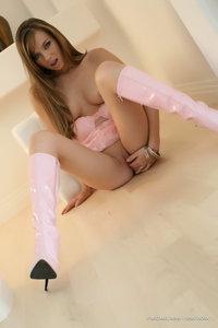 Capri Anderson Pink Boots 13