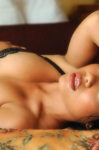 Luana Lani Stirps Her Black Lingerie 09