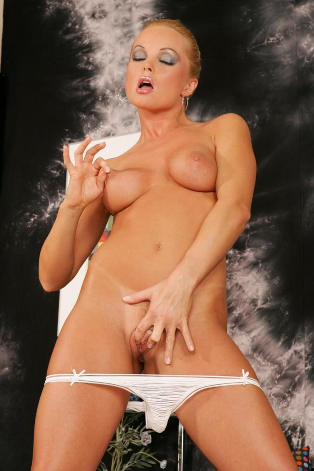 Silvia Saint In A White Dress And Panties 08