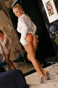 Silvia Saint In A White Dress And Panties 02