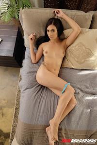 Marley Brinx Gets Nude In Her Bedroom 07