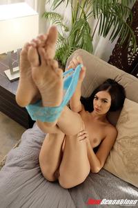 Marley Brinx Gets Nude In Her Bedroom 08