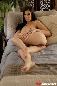 Marley Brinx Gets Nude In Her Bedroom 12