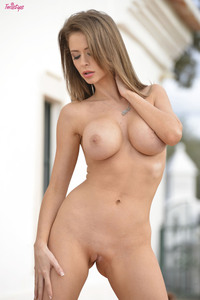 Emily Addison In Pussy On The Patio 12