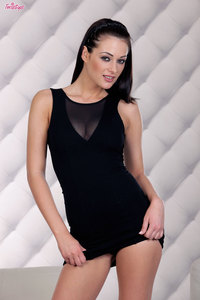 Dana Weyron In Infamous Little Black Dress 00