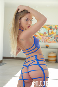 Hot Assed Blonde Beauty Sydney Cole In Sexy Lingerie 14