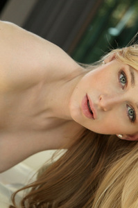 Stacie Jaxxx Nice Young Blonde Fingers Herself In The Livingroom 15