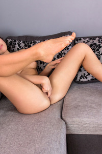 Elina Dee Sexy Babe Fucks Herself Until She Cums 12