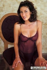 Ashley Ann In Sexy Nightie 01