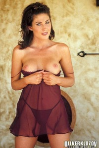 Ashley Ann In Sexy Nightie 05