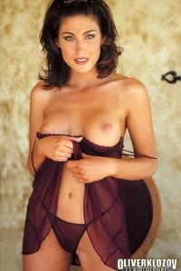 Ashley Ann In Sexy Nightie 07