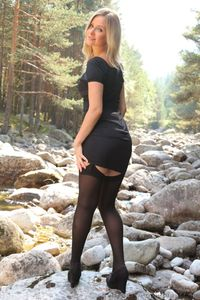 Elle Richie Sweet Blonde In Stockings 03