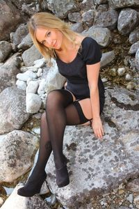 Elle Richie Sweet Blonde In Stockings 06