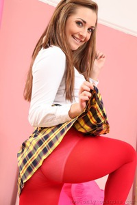 Brunette Schoolgirl Daisy Watts After The School 04