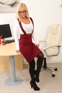 Rachel H Is Waiting For You After Work In The Office 00