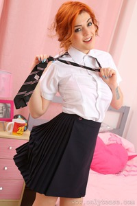 Rosie Rees Beauty Schoolgirl 09