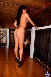 Black Haired Babe Love Naked 07