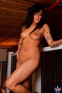 Black Haired Babe Love Naked 09