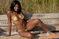 Ebony Babe In Bikini 05