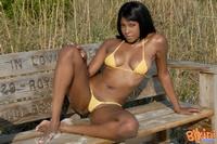 Ebony Babe In Bikini 07