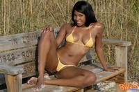 Ebony Babe In Bikini 08