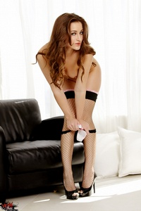 Dani Daniels In Sexy Stockings 10