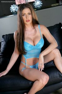 Jessica In Blue Lingerie 03